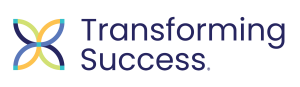 small transforming success logo