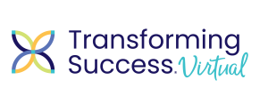transforming success virtual logo
