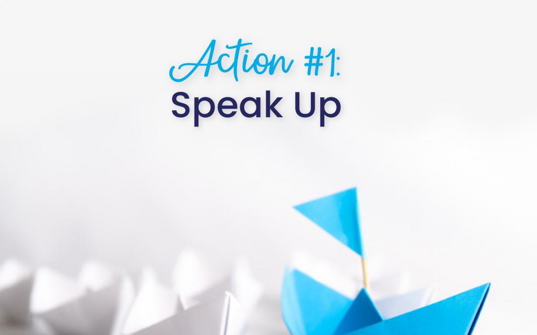 Leadership 2021:  Will you speak up?